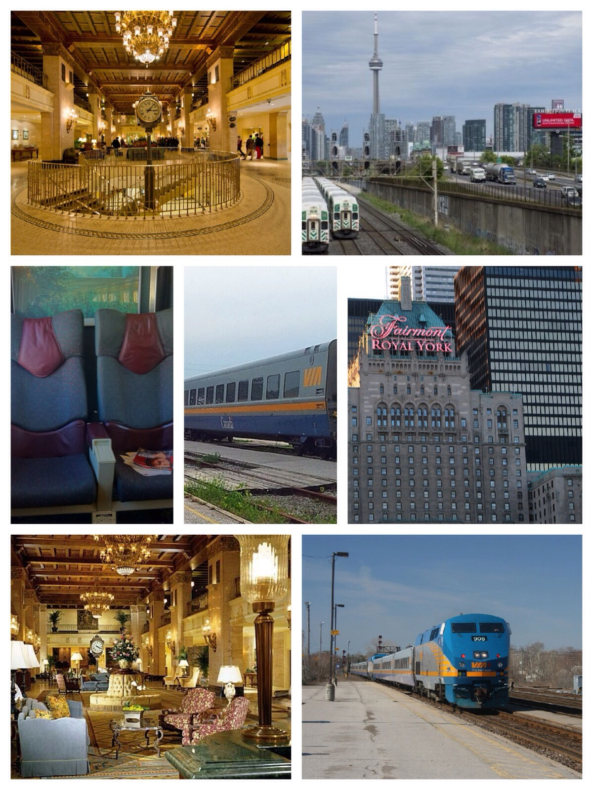 taking the train to toronto montreal and quebec city. Black Bedroom Furniture Sets. Home Design Ideas